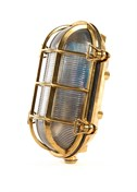 Gallerlampa oval 17x23cm